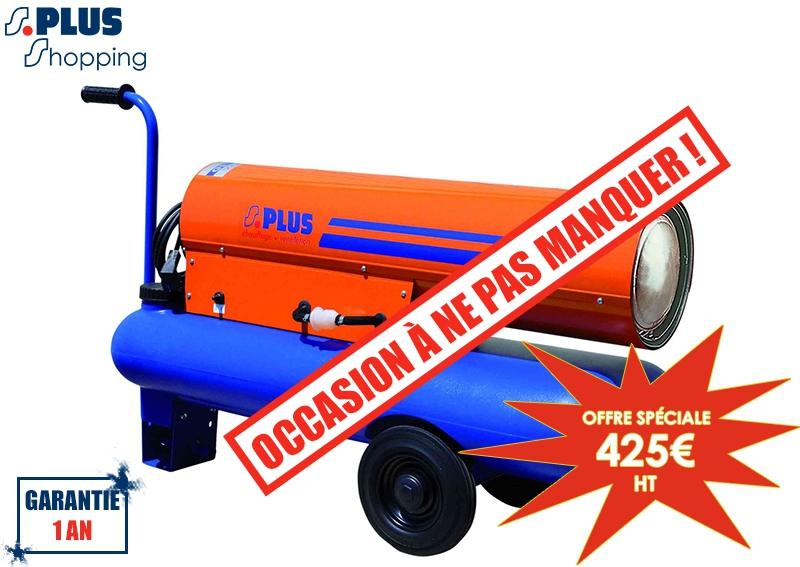 occasion g n rateur air chaud mobile fioul gf 25 m. Black Bedroom Furniture Sets. Home Design Ideas