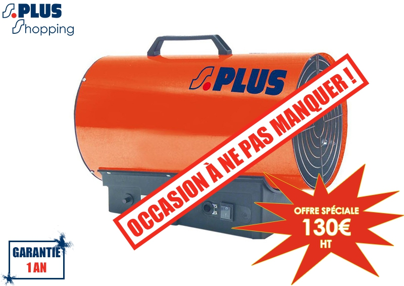 occasion g n rateur air chaud mobile gaz propane eco 30 mx. Black Bedroom Furniture Sets. Home Design Ideas